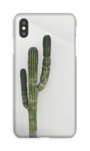 De single cactus hoesje IPhone XS Max