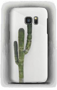Einsamer Kaktus Handyhülle Galaxy S7