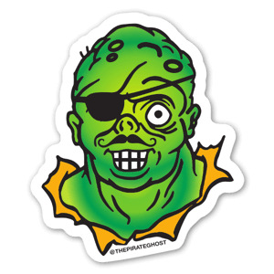 PirateGhost Avenger sticker