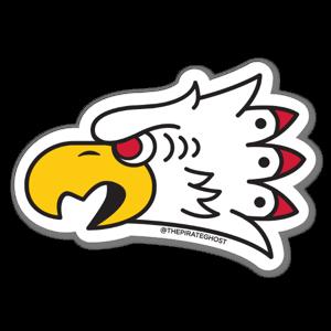 PirateGhost Lone Eagle RIGHT sticker