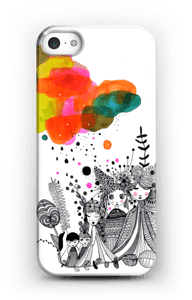 Colourful thoughts hoesje IPhone SE