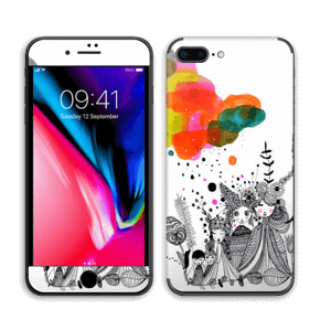 Colourful thoughts  Skin IPhone 8 Plus