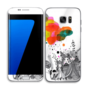 Colourful thoughts  Skin Galaxy S7 Edge