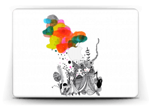 """Colourful thoughts  Skin MacBook Air 13"""""""