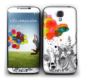 Faith & doubt  Skin Galaxy S4
