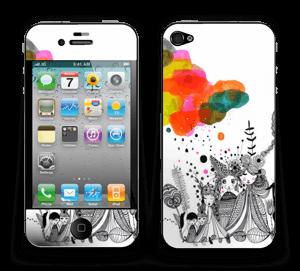 Glaube und Zweifel Skin IPhone 4/4s