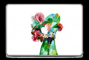 "Chapeau fleuri Skin MacBook Pro 17"" -2015"
