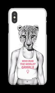 Run Grrrl deksel IPhone XS Max
