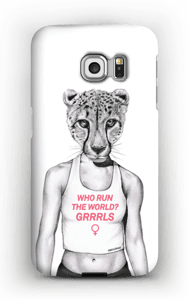 Run Grrrl cover Galaxy S6 Edge