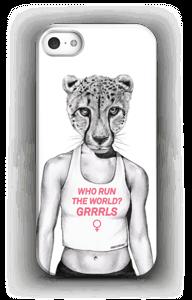 Run Grrrl  case IPhone SE