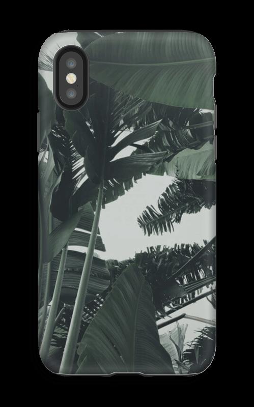Tropic Leaves kuoret IPhone X tough