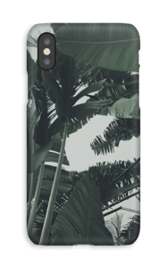 Tropic Leaves case IPhone XS