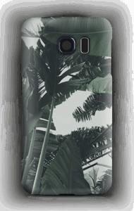 Tropic Leaves kuoret Galaxy S6