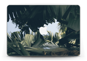 "Tropical Leaves Skin MacBook Pro Retina 13"" 2015"