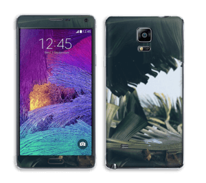 Tropical Leaves Skin Galaxy Note 4