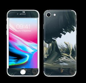 Tropical Leaves Skin IPhone 8