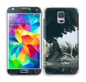 Tropical Leaves Skin Galaxy S5