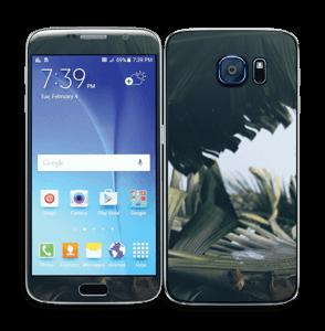 Tropical Leaves Skin Galaxy S6