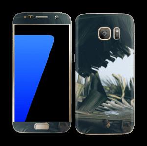 Tropical Leaves Skin Galaxy S7