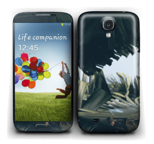 Tropical Leaves Skin Galaxy S4