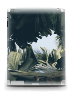 Tropic Leaves  Skin IPad 4/3/2