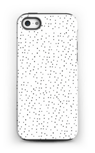 Ett prickigt mobilskal