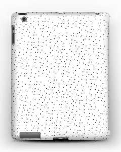 Dots on white case IPad 4/3/2