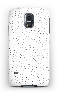 Dots on white case Galaxy S5