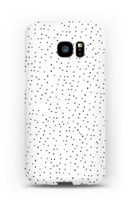 Sort-og hvide prikker cover Galaxy S7 Edge