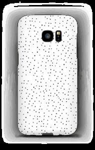 Dots on white case Galaxy S7 Edge