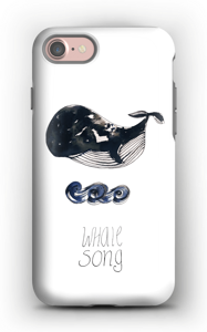 Whale song deksel IPhone 7 tough