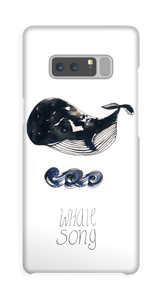 Whale song Coque  Galaxy Note8
