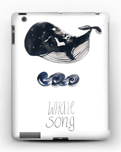 Whale song deksel IPad 4/3/2