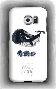 Whale song deksel Galaxy S6 Edge