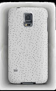 Harmaita pilkkuja kuoret Galaxy S5