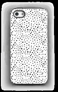 Prikker på hvidt cover IPhone 5/5s tough