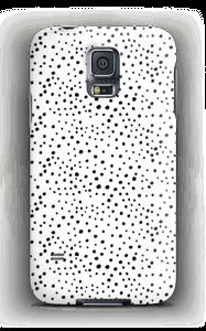 Weiße Punkte Handyhülle Galaxy S5