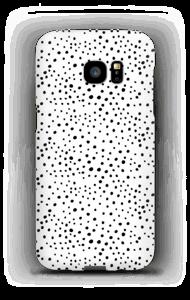 Valkoiset pilkut kuoret Galaxy S7 Edge