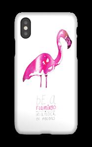 Be a flamingo  case IPhone X