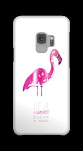 Sei ein Flamingo Handyhülle Galaxy S9