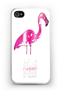 Be a Flamingo kuoret IPhone 4/4s