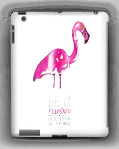 Be a flamingo deksel IPad 4/3/2