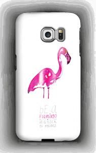 Be a flamingo deksel Galaxy S6 Edge