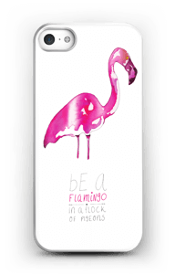 Be a flamingo  case IPhone SE