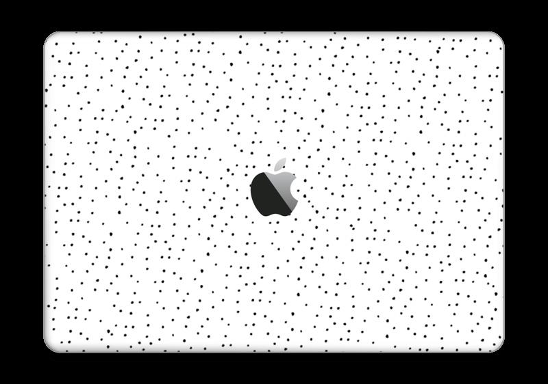 """Prikker på hvitt Skin MacBook Pro 13"""" 2016-"""