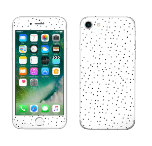 Small dots on white Skin IPhone 7