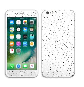 Small black dots on white Skin IPhone 6 Plus