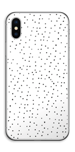 Small dots on white Skin IPhone X