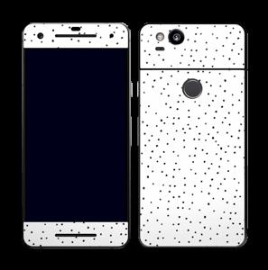Prikker på hvitt Skin Pixel 2