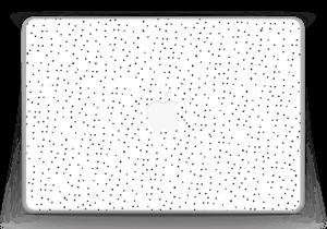 """Prikker på hvitt Skin MacBook Pro 13"""" -2015"""